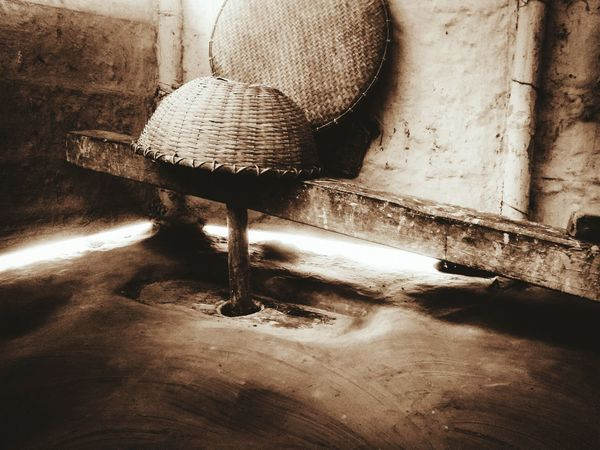 No People Sand Day Indoors  Close-up Traditional Culture Ricepounder Rural Scene RuralIndia RuralAssam Awesomeassam Traditional Rice pounder called Dheki