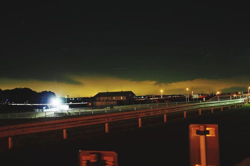 Night Illuminated Outdoors Sea Sky Water City No People Architecture Nightlife