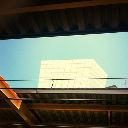 Architecture Blue Sky