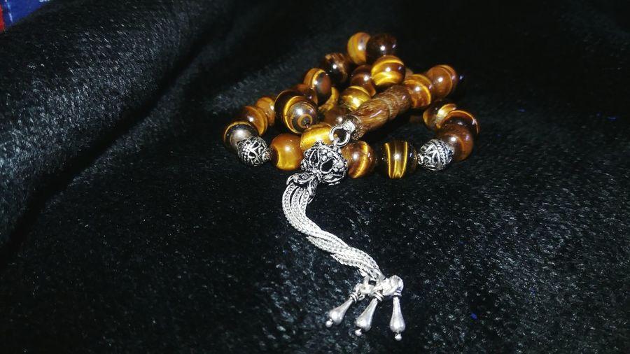 Jewellery Gemstone Jewelry Rosary Tiger Eye Stone Handmade Silver  Stone People Gem Old Stones Yellow Shiny