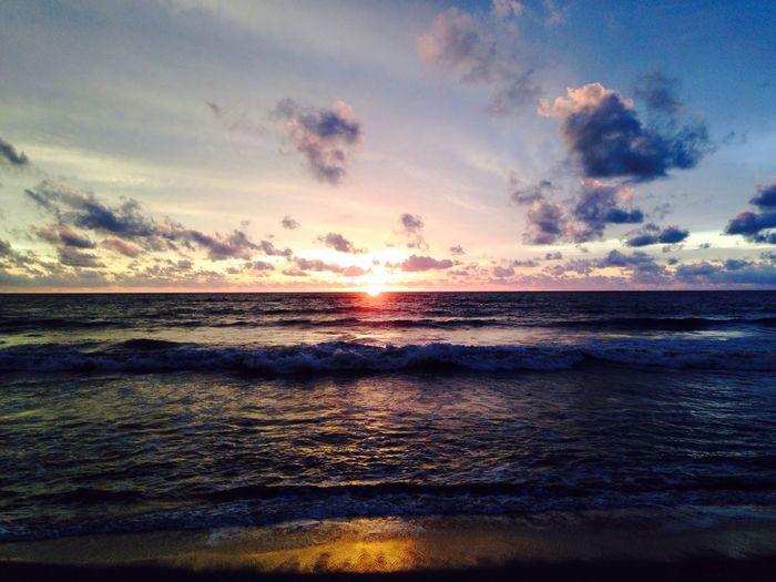 Waikkala beach evening time