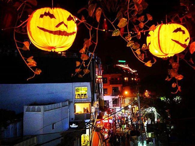 Pumpkin Halloween Hauzkhas Delhidiaries Sodelhi Trickortreat Nightphotography Dilli Indiapictures DelhiGram WhenInDelhi