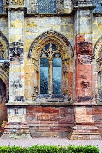 Rosslyn Chapel - Edinburgh, Scotland Architecture Chapel Church Edinburgh Europe Great Britain Rosslyn Chapel Scotland Art Is Everywhere
