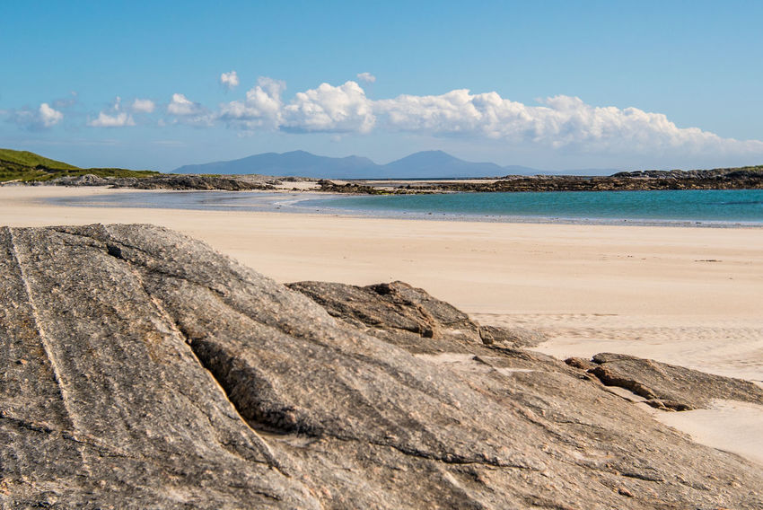 Beach Beauty In Nature Day Isle Of North Uist Landscape Nature No People Outdoors Outer Hebrides Sand Scenics Scotland Sky Tourism Travel Destinations Western Isles