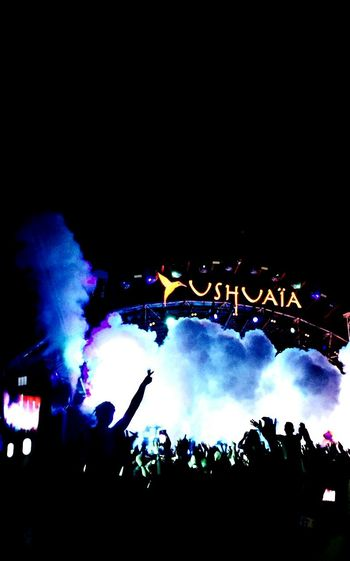 Music Brings Us Together Arts Culture And Entertainment Large Group Of People Crowd Lifestyles Nightlife Stage - Performance Space Performance Music Illuminated Celebration Event Martin Garrix Ushuaia Ibiza Party Concert Edm Ibiza, Spain