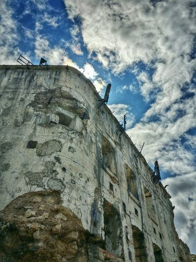 WWI Fort, Cima Vezzena, Trento, Italy Travel Italy Trento Cima Vezzena Mobile Photography Art Fineart Backlight Wwi Military Installations