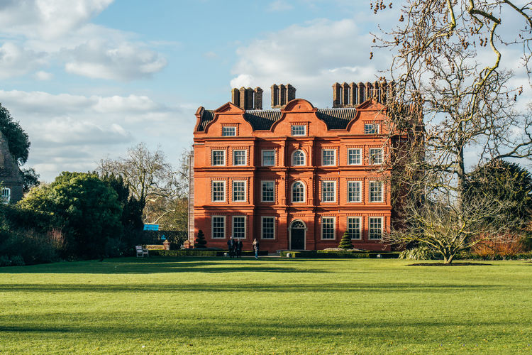 Kew Gardens Kew Palace London Architecture Building Exterior Lawn Nature Outdoors Scenics Sunlight