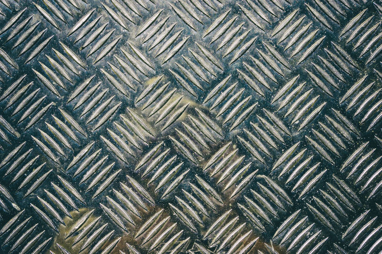 Close-up of textured metal plate Abstract Backgrounds Brushed Metal Close-up Day Full Frame Indoors  Metal No People Pattern Plate Repetition Seamless Pattern Shape Textured
