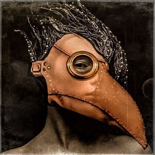 Blackdeath Doctor's Plague Mask Forgotten Dreams New Nightmares Photographic Approximation Facial Experiments