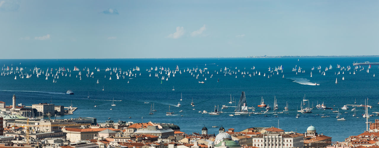 Trieste, Italy. Over 2000 of sails boat in the Adriatic sea during the Barcolana regatta 2017. The Biggest sail boat regata in the world. Gulf Coast Sailing Trip Sailing Ship Trieste Trieste, Italy TriesteSocial Adriatic Coast Adriatic Sea Bora Bora Wind Competition Competition Day Guinees Nature Outdoors Over 2000 Sailing Boats Regatta Sailing Sailing Boat Sailing Vessel Sky