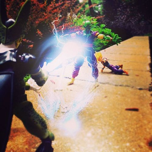 """""""No!!! Piccolo!!!!""""-Gohan Another edited effect brought to you by @man3lx"""