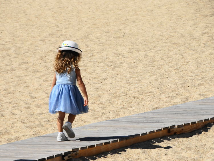 Children Beach Childhood Children Only Children Photography Children Walk Day Full Length Leisure Activity Lifestyles Nature One Person Outdoors People Real People Rear View Sand Walk On The Beach  Walk Path Walking The Week On EyeEm