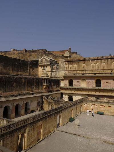 Amber Fort Against Clear Sky