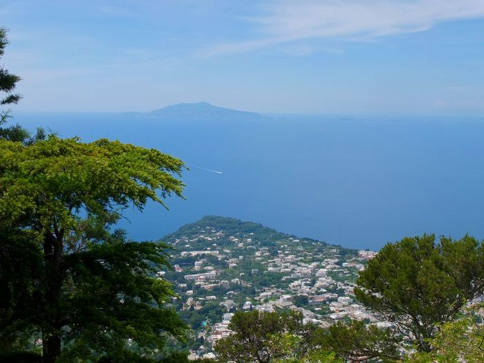 Gulf Of Naples Seen From Capri Island