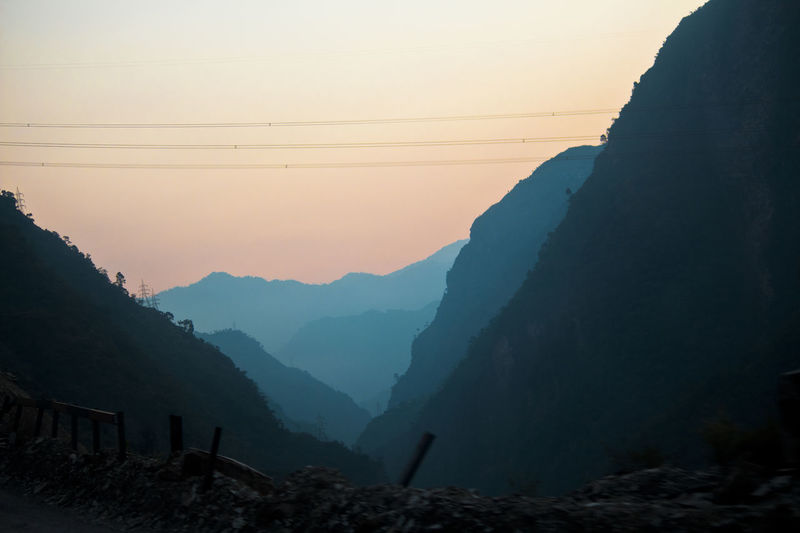 Sunrise..!! on the way to kullu manali Kullu Manali Himachal Sun Sunrise Clouds Photography Photo Naturephotography Himalayas Sunset Mountain Silhouette Landscape Vacations Nature Hiking Beauty In Nature Mountain Range Fog No People Sky Day