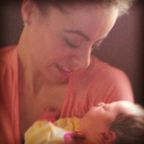 True love! Alia Jo, my second niece. @safiag1 Thosebabygreys Auntlife Truelove Mygirls