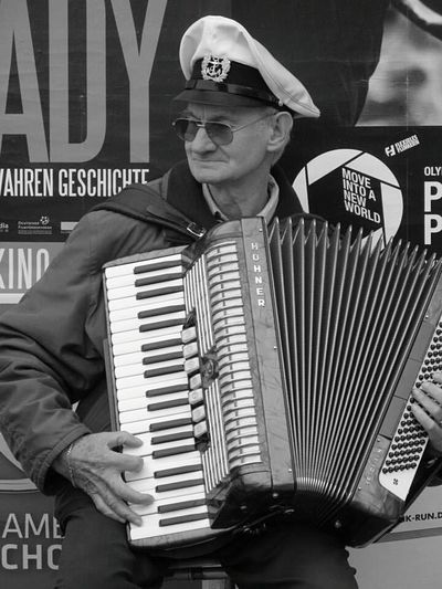 RePicture Ageing My Captain... Accordion Street Musicians Humaninterest Black And White Photography Anotherdayinparadise Up Close With Street Photography Street Musician From Where I Stand Street Photography Up Close Street Photograpy Check This Out
