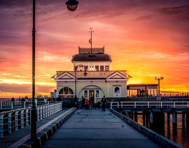 City Water Sunset Sea History Dome Horizon Dusk Dramatic Sky Beach Romantic Sky Pier Shore Calm