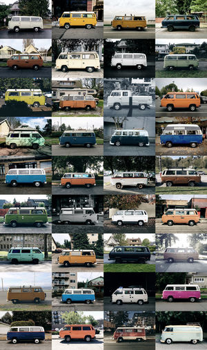 a collection of micro-bus from 2014-2015. all taken in the neighborhoods of Seattle, Washington. Classic Car Collections Micro Beauty Seattle, Washington VW Bus Parked Cars Project Street Photography Vintage