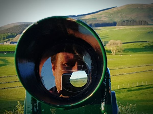 Taking Photos Check This Out Light And Shadow Countryside Crawick Multiverse Hills And Valleys Sanquhar Taking Pictures Scotland Reflection_collection Telescope Telescope View Telescopepictures Telescopic View Telescopeshot Reflections And Shadows Reflecting Light Reflecting Glass Selfies Selfie Time Selfie ✌ Selfie Reflections Selfie Reflection Something Different Experimental Photography wrong end of telescope of me taking picture down it and image of me reflecting back at same time. Just a bit of fun lol :) 😄