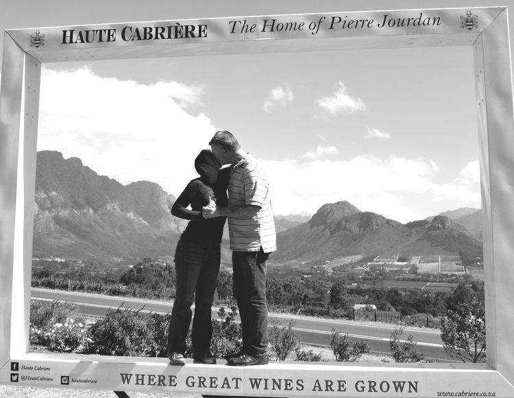 A love for wine in South Africa! Cape Winelands Embrace Life  Franschhoek Haute Cabriere Infinite Travel Group, LLC Love Love Beyond Measure South Africa Stellenbosch Wine Wine Moments