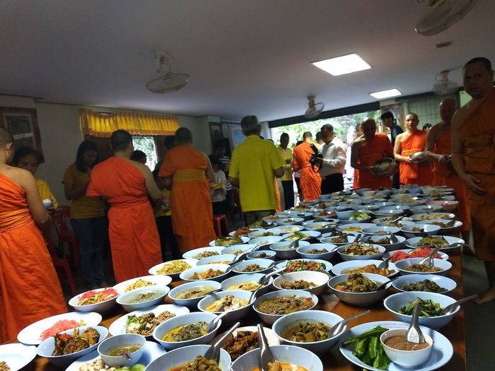 Meal & Budhism way Food Budhism Style