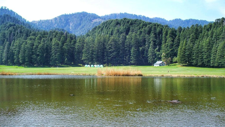 Khajjiar Lake Khajjiarlake Khajjiar Outdoors Forest Landscape Day Tranquility No People Beauty In Nature Reflection Scenics Pinaceae Lake Nature Water Pine Tree Tree Mountain Sky Beauty In Nature Freshness Nature Photography Travel Photography Travel Destinations EyeEm