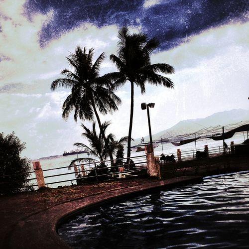 Subic Freeport Sunrise Healing Photography Visualstoryteller Outdoors Moody Sky Mood Port Summer Beach Hope