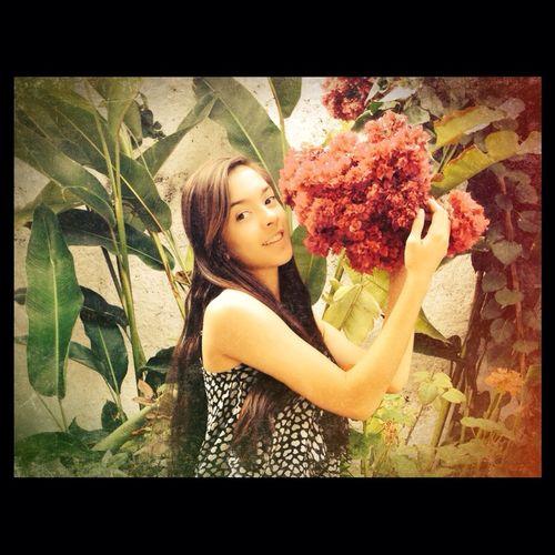 Flower Girl Today Hello World