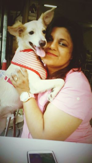 What I Value My Family and My Cute Pet Lucky Enjoying Life First Eyeem Photo
