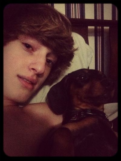 Chillin' With My Dog