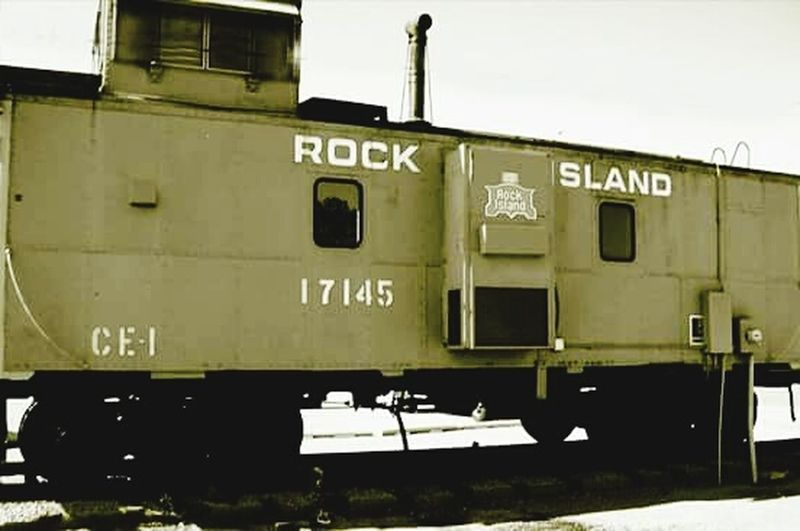 Rock island railroad, No People Outdoors Transportation