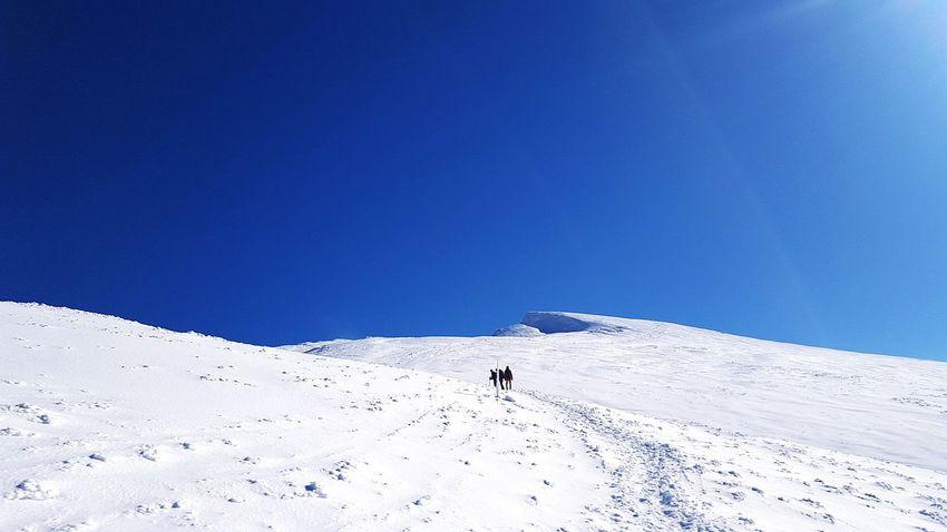 Mountain Austria Schneeberg Mountaineering Hello World Snow Friends