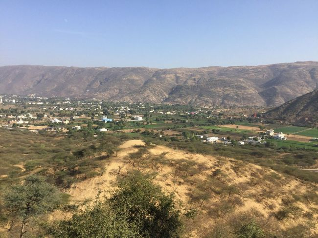 ARAVALI HILL'S VALLEY Valleyside Agriculture Outdoors Field Irrigation Equipment Rural Scene