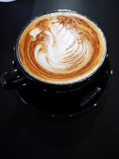 Coffee lovers Froth Art Cappuccino Frothy Drink Drink Black Background Latte Mocha Coffee - Drink Coffee Cup Table Coffee Beverage Hot Drink Caffeine Hot Cup Roasted Coffee Bean Cafe Macchiato
