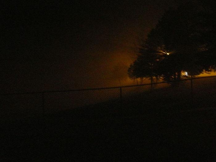Eerie Field Fine Art Photography Fog Night Outside Sinster Traveling