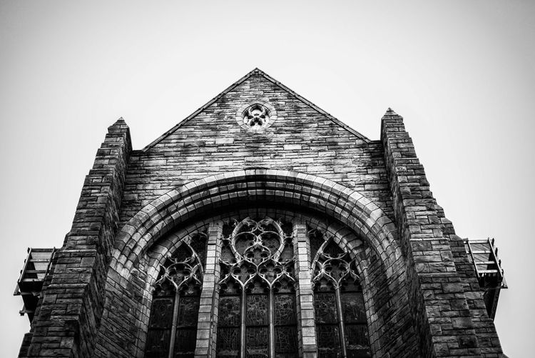 Capetown Southafrica Chruch Architecture Architecture_collection Monochrome