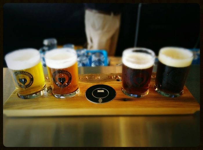 Taster tray Beer Drinking Relaxing