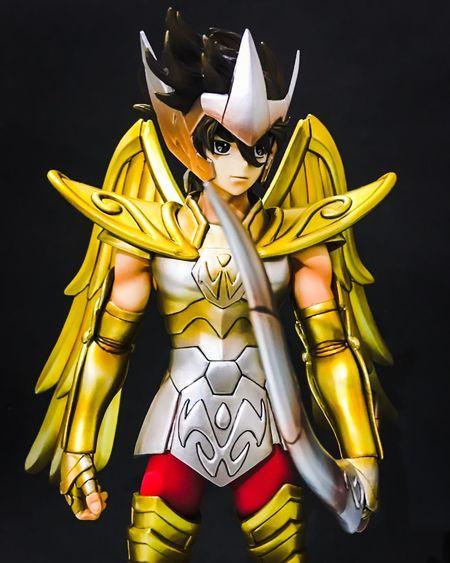 Seiya sagittarius Toy Otaku Actionfigure Actionfigurephotography Actionfigures Toyphotography Saintseiya Goldcloth Saintseiyafan Caballerosdelzodiaco
