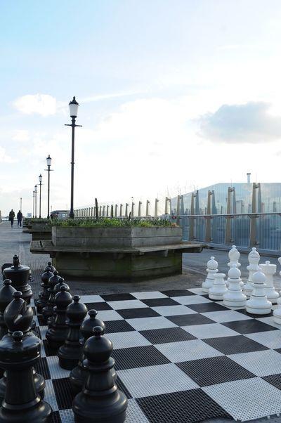 Chess Chessboard Southend On Sea Southend Southend Pier Bluesky Nikon Nikonphotography