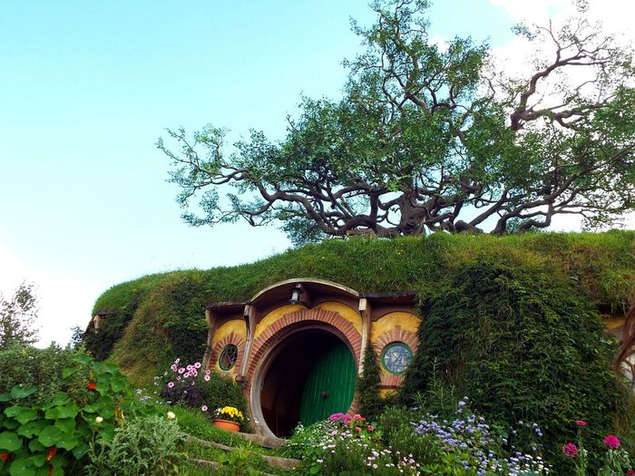 Cityscapes not quite a cityscape but it's Bilbobaggins house from LOTR and TheHobbit