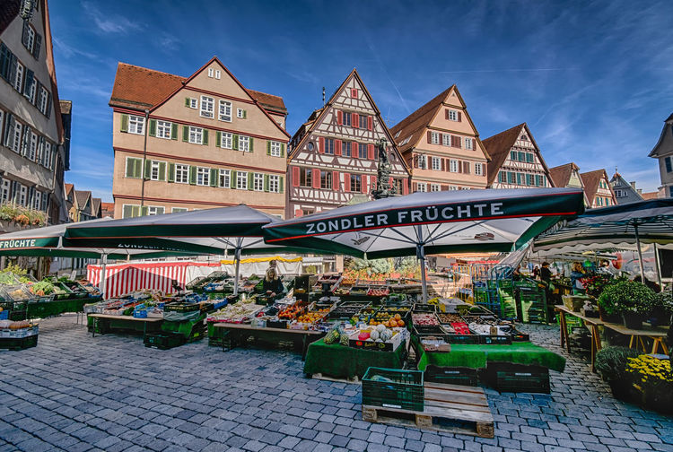 Fresh marketing ideas are always welcome. Travel Destinations Market Multi Colored Outdoors Colourful Houses Germany Colourful Street Life City Life Cityscape City Town TOWNSCAPE Europe Architecture_collection European Architecture Architecture Tübingen Baden-Württemberg  Market Stall Food Fruits Vegetables Market Day Consumerism