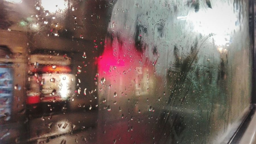 Window Wet Red Drop Experimental Mobilephotography Nightlife Night Lights Nightphotography Through My Eyes Through The Window Citylights City Street Cityscape City Life Women Photographers Condensation Rain Glass - Material Travelling Travel Photography Transparent Water Indoors