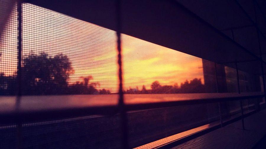 Sunrises sometimes Sunrise Sky Simpleagain Window EyeEm Best Shots