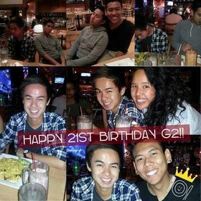 Late post. HAPPY 21ST BIRTHDAY G2 little!! One shot wonder!! Even though you're such a little brat sometimes (just kidding), I love you like a little brother!! Hope you had a memorable 21st haha. Latepost Oneshotwonder 21 Sexyfatass sexyfatassroyalty itwasjustkamikazee tomcelebratedtoo tomtookitfortheteam
