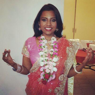 Chaitra Navratri comes to an end today!!! Navratri 9days Finalday DurgaMa warriorgoddess LakshmiMa goddessofwealth SaraswatiMa goddessofknowledge 3avatars shakti power celebratinglife celebratinglove proudhindu indianculture saree havan mala freshflowers handmade ॐ
