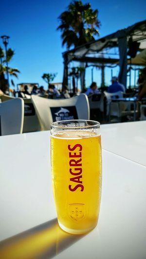 Lissabon, Lisbon, Lisboa, Beer, Beach, Beach Bar, Relaxing