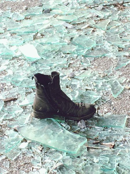 Abbandoned Hotel Glass Shoes abbandoned hotel Kalic
