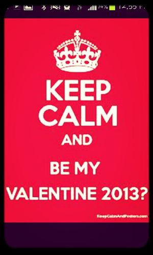 who wants to be my valentine??
