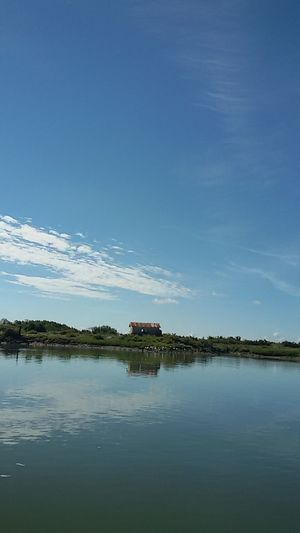 A Day On The River La Seudre near Mornac-sur-Seudre Blue Sky And Clouds A House And Sky A House Beside The River Blue Sea Nature Beauty Landscape Rural Scene Beauty In Nature Samsungphotography No Filter, No Edit, Just Photography Tranquility in Mornacsurseudre, France